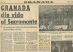 Granada dio vida al Sacromonte (Ideal, 02/02/1983)