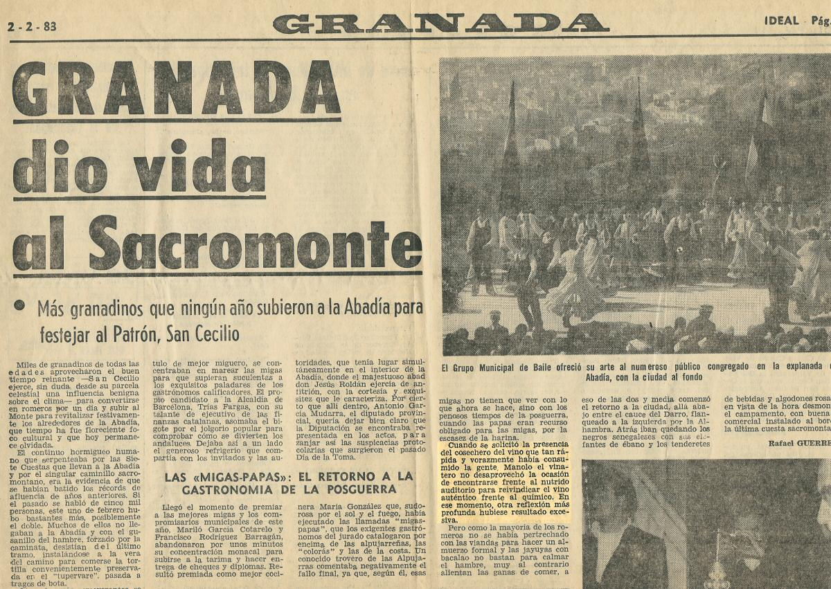 Granada dio vida al Sacromonte | Ideal