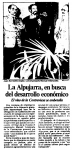 La Alpujarra, en busca del desarrollo económico. El vino de la Contraviesa se embotella (El Día de Granada, 12/02/87)