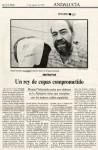 Un rey de copas comprometido (El Pais, 17/08/1998)