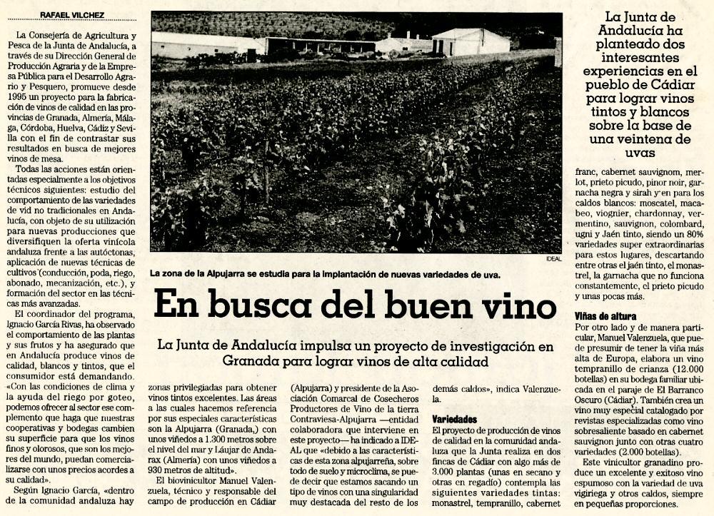 En busca del buen vino | Ideal