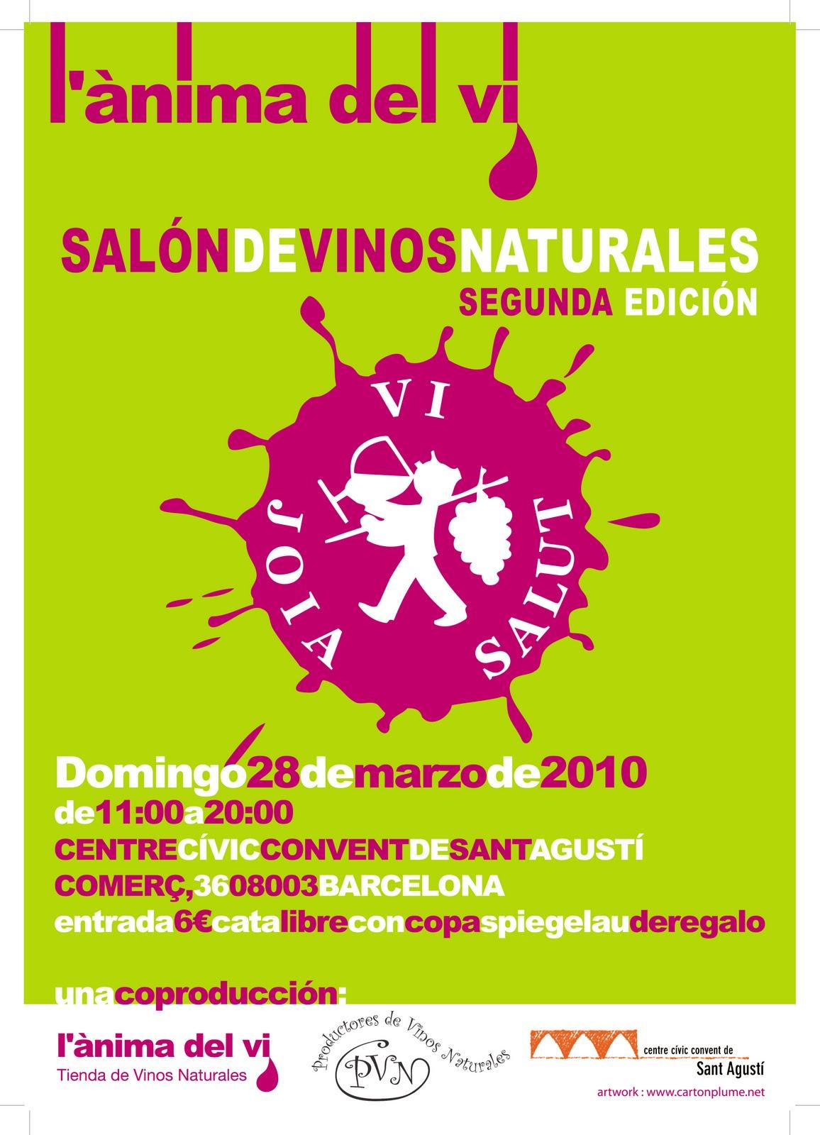 Salón de Vinos Naturales en Barcelona