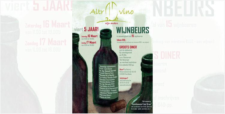 Altrovino Wijnbeurs Natuurlijke Wijnen in België