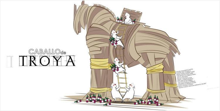 Caballo de Troya en FENAVIN