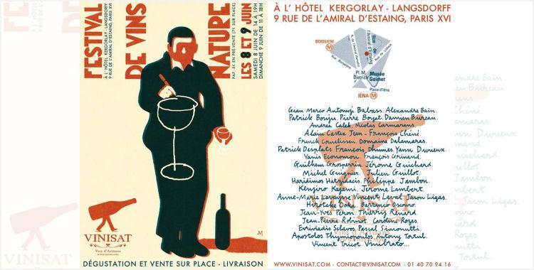 Festival de Vins Nature Vinisat a Paris