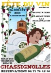 Fete du vin 2013, vins naturels chassignolles