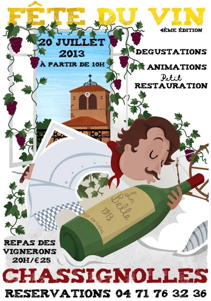 Fete du vin naturel a Chassignolles
