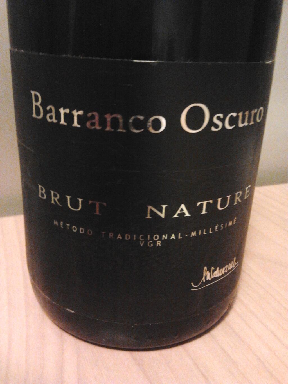 Brut Nature 2010 – Barranco Oscuro | primo bicchiere