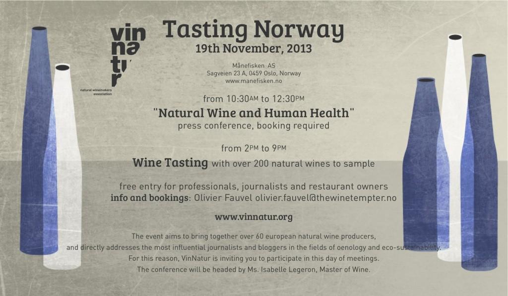 VinNatur Tasting Norway 2013
