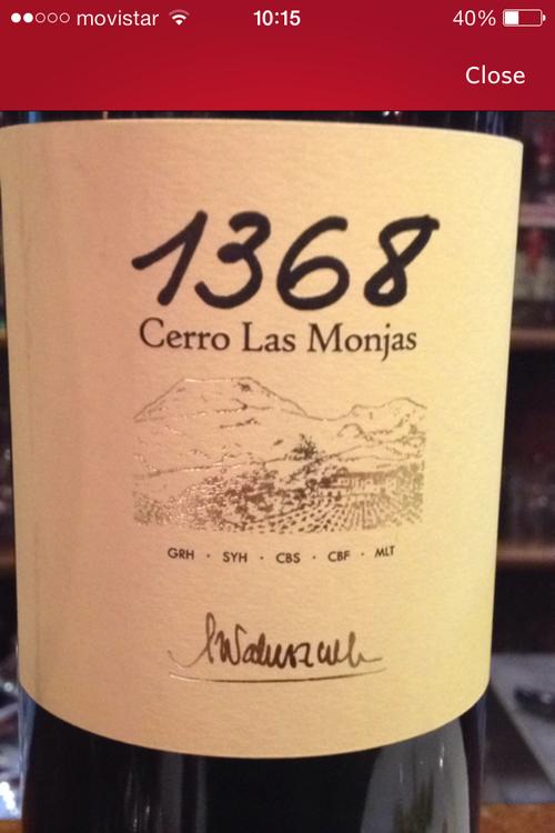 Una experiencia 1368 Cerro de las Monjas, 2004, V. T. Contraviesa-Alpujarra