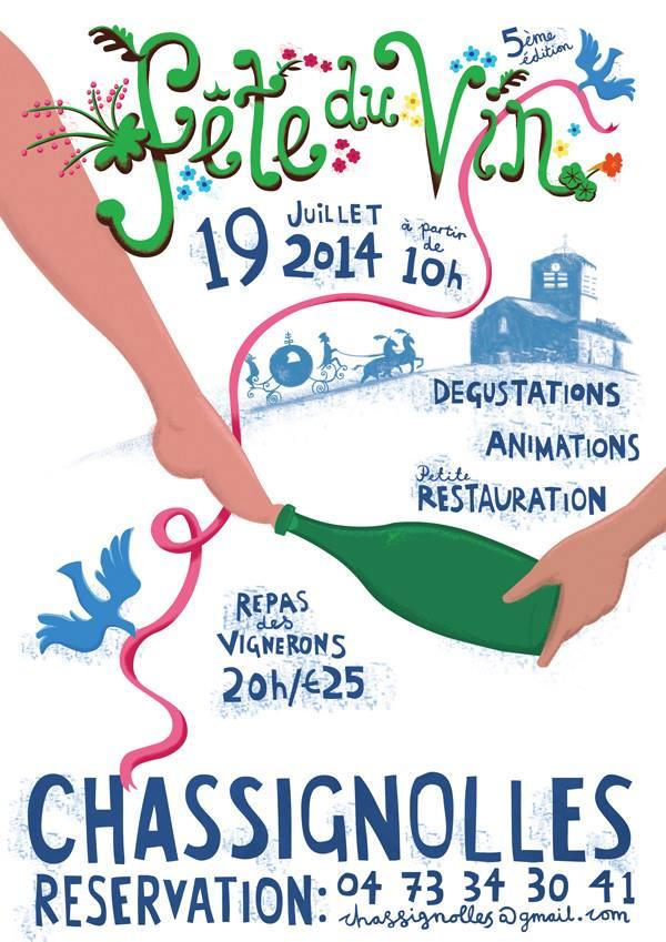 Fête du vin de Chassignolles 2014