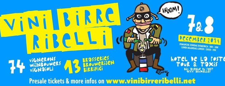 Vins, Bières, Rebelles - Bruxelles