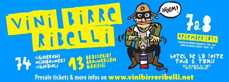 Vins, Bières, Rebelles – Bruxelles