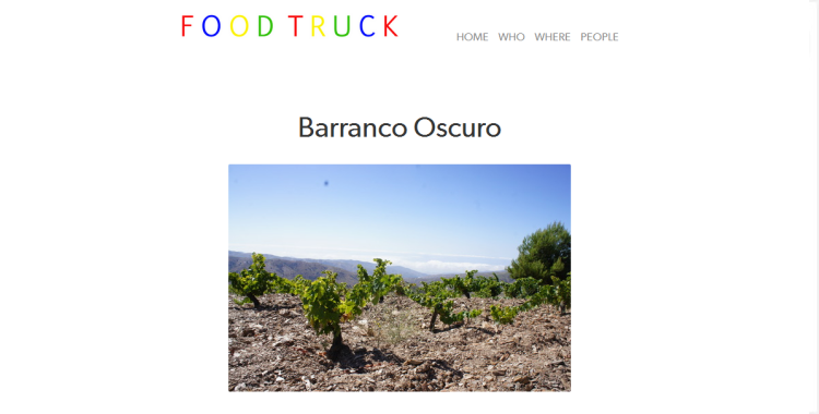 Barranco Oscuro | Food Truck Blog