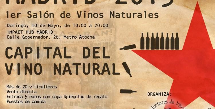 Salón de Vinos Naturales Madrid 2015